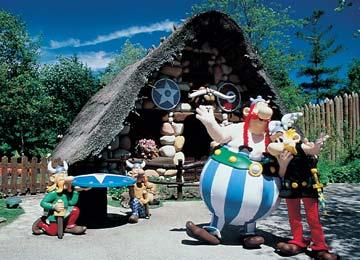 Parc Astérix, theme park outside of Paris